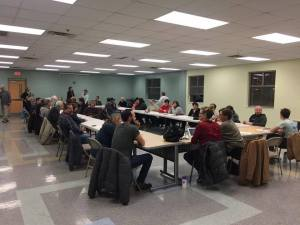 parkridge community organization meeting