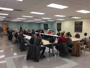 parkridge community organization meeting